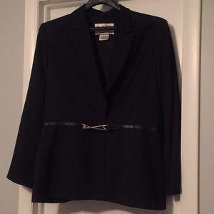 Dressy black jacket-never worn